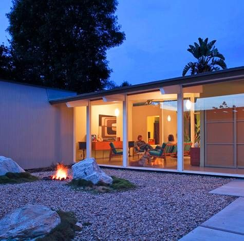 Modernica Blog Joseph Eichler's Post-and-Beam Home Today - Modernica Blog