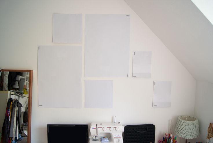 DIY Bilderwand - yellowgirl der DIY und lifestyle Blog