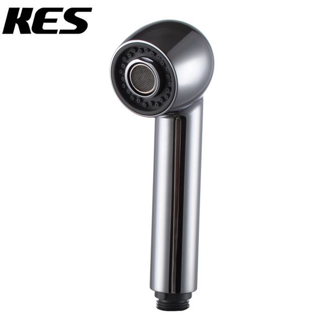 KES PFS4 Banheiro Torneira Da Cozinha Pull-Out Spray Cabeça Universal Parte Substituição, Cromo polido/Escovado Níquel