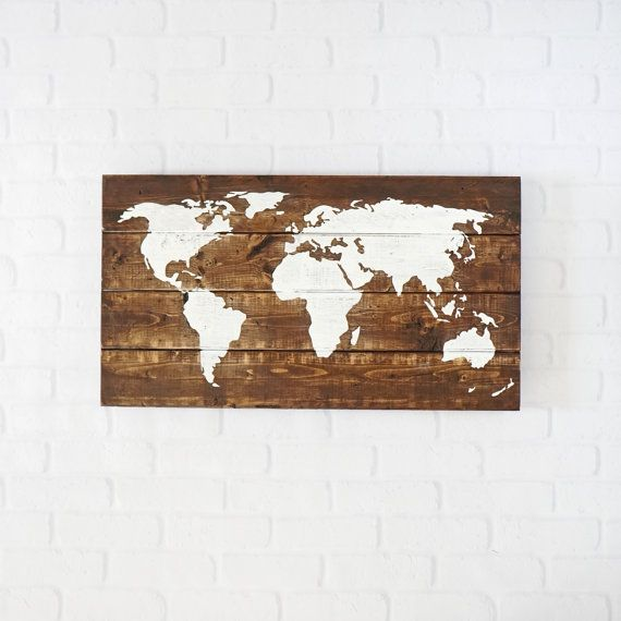 Wall Art Home Hardware : Best ideas about map wall decor on travel