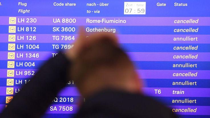 Bis zu 1700 Flugausfälle?: Lufthansa-Piloten dürfen weiter streiken