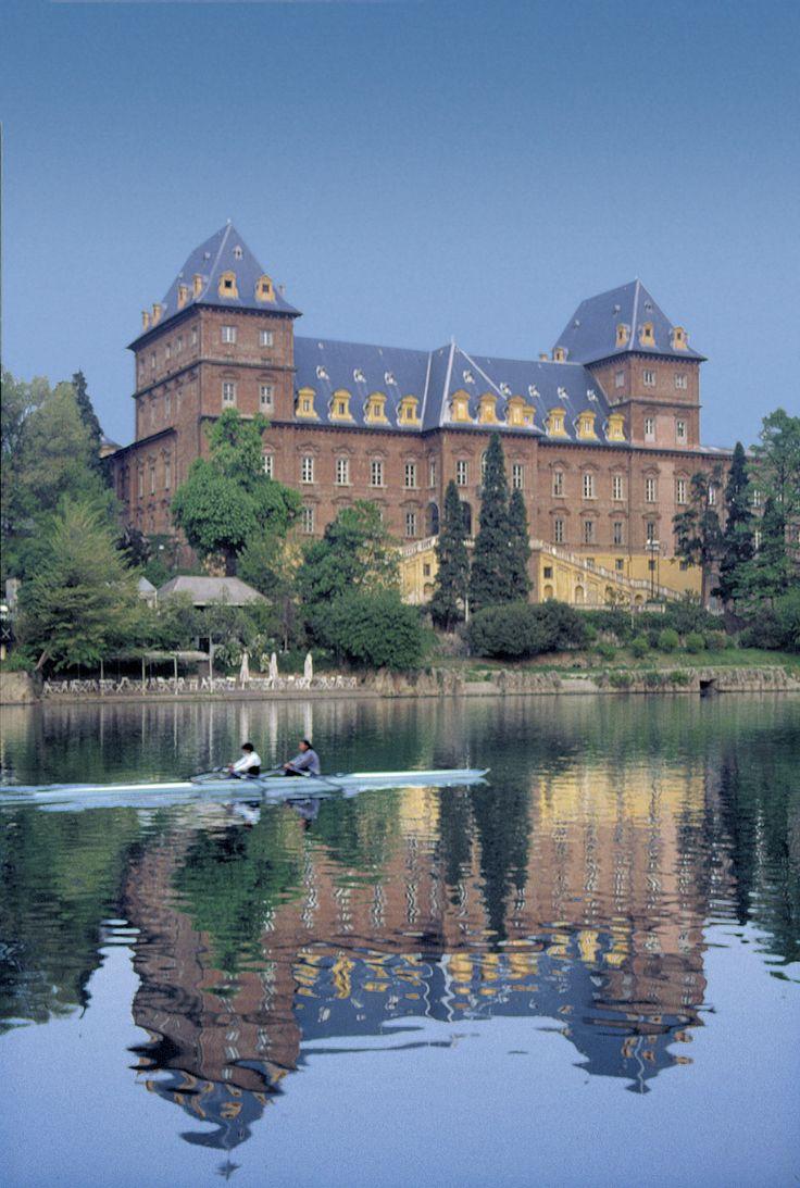 Castle of Valentino and Po River - Turin, Piemonte, Italy