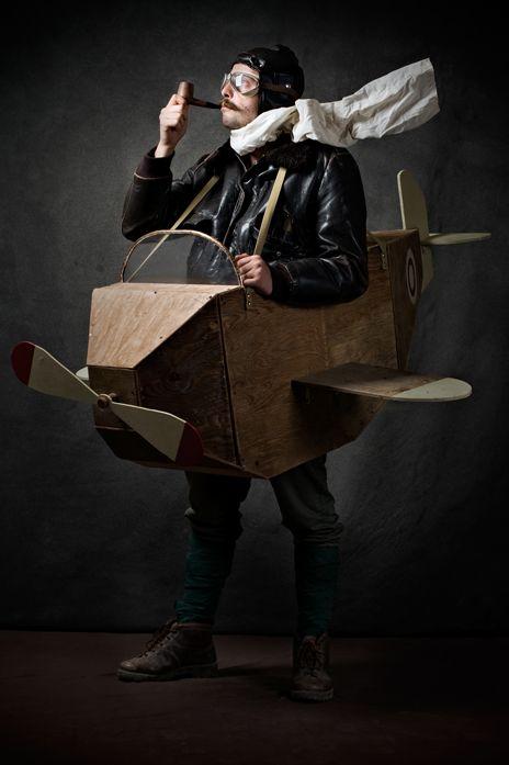 Serie IL FAVOLOSO MONDO: L'aviatore - stampa fotografica cm 75x50