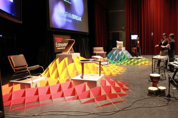 TEDxEdmonton Exhibition design 2 25 Innovative 3D Exhibition Designs, Display Stands & Booth Collection
