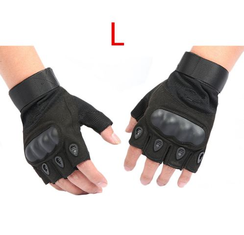 Tactical Gloves For Men Finger Less Army Climbing Bicycle Anti-Skid Fitness Sports Workout Gym Training SW55