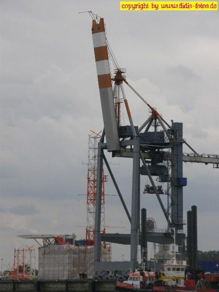 Hafenkran in Cuxhaven