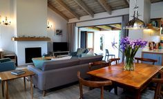 Selsey Cottage: Lounge Dining Room.  FIREFLYvillas, Hermanus, 7200 @fireflyvillas , bookings@fireflyvillas.com,  #SelseyCottage  #FIREFLYvillas #HermanusAccommodation.