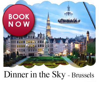 Dinner in the sky - brussels