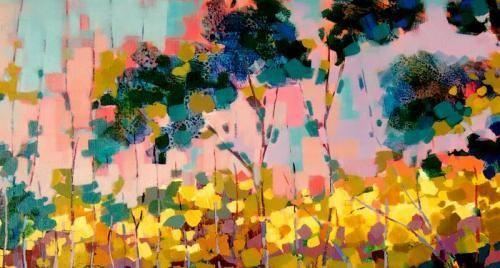 Pink Sky Acrylic on Canvas