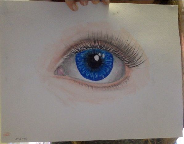 i went through a faze of drawing eyes a while ago, this was one of the first