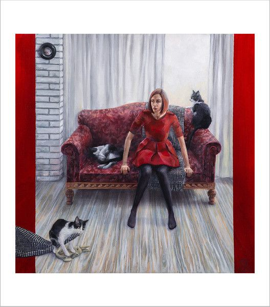 Fine Giclée Print - La Memoria - Tamaño: 50 x 50 cm - Precio: 120 €. Dulce Porvenir Estudio. Rosa Álamo