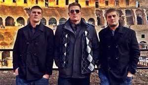 The Pewaukee Brothers TJ, JJ and Derek Watt.