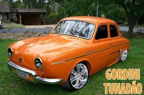Carros Antigos - Gordini Tunado                                                                                                                                                                                 Mais