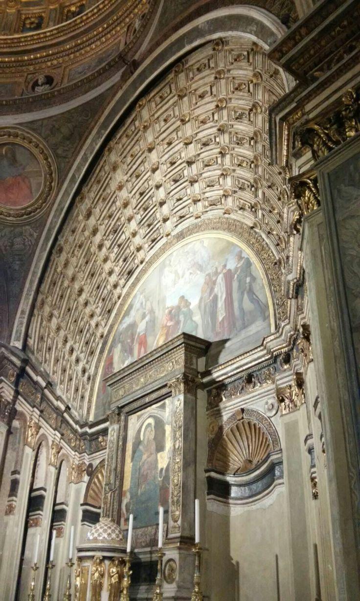 Santa Maria presso San Satiro.  1480. Commitente Gian Galeazzo Maria Sforza, tramite la madre reggente Bona di Savoia, moglie di Galeazzo Maria Sforza
