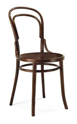 Michael Thonet designed Bistro Chair No. 14