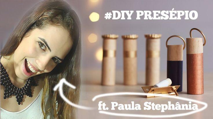 ESPECIAL de NATAL #2: DIY PRESÉPIO ft. Paula Stephânia