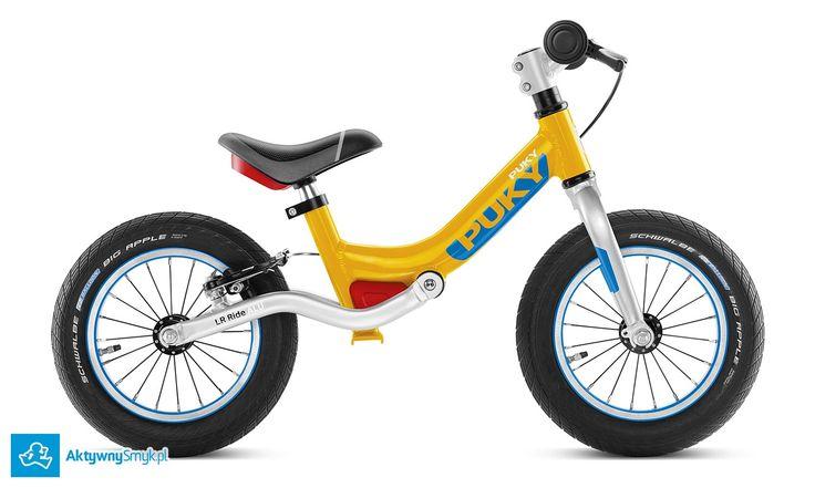 Amortyzowany rowerek biegowy Puky LR Ride (pomarańczowy) posiada lekką aluminiową ramę, lekkie opony Schwalbe, hamulec v-brake, stery a-head... i jakość firmy Puky. Rowerek biegowy Puky LR Ride przeznaczony jest dla 3+ latka, wzrost od 90 cm, nóżka od 39 cm.