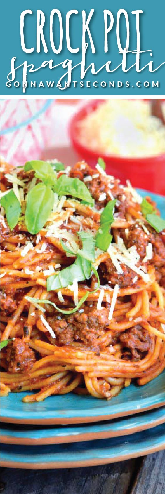 This family favorite Crock Pot Spaghetti is a dream come true! Super yummy and easy to make ~the pasta cooks in the crockpot in the sauce! How's that for convenience!