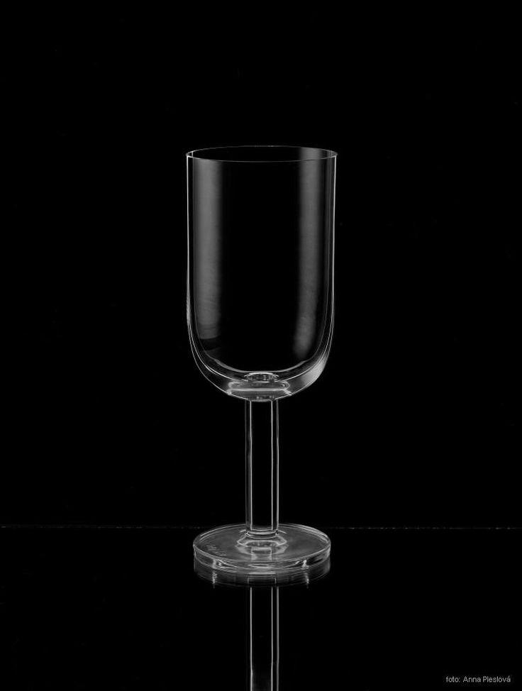 design, glass, art, Rony Plesl, black and white