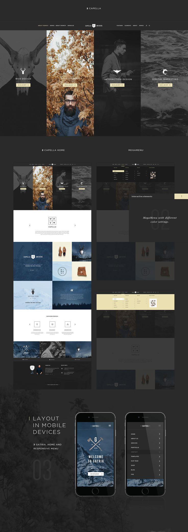 Hydrus on Web Design Served. Best 25  Web gallery ideas on Pinterest   Gallery website  Web