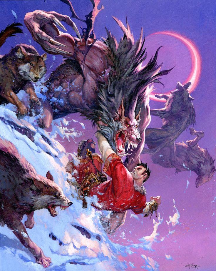 Dungeons and Dragons — Jesper Ejsing Illustration