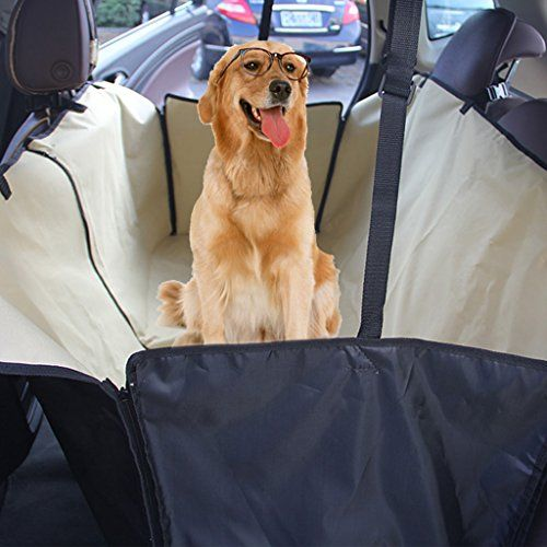 Yotron Dog Seat Cover Update Version Universal Pet Hammock Barriers X Large 152x130cm 60x51 Nonslip Waterproof Car Travel CoversProtection For