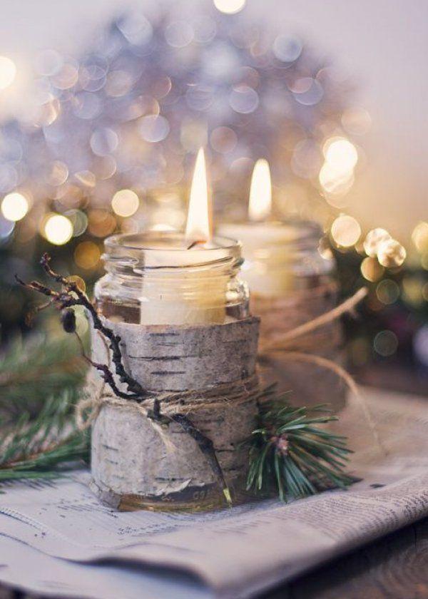Un noel a l'esprit nature, décoration naturelle pour noel christmas decoration