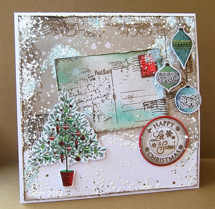 Pretty Christmas Cards - House Beautiful - House Beautiful