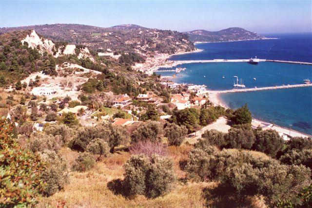 holiday house in Evia, Kimi