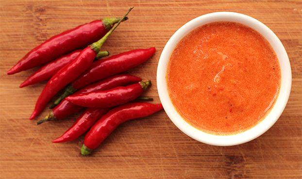 Mel e Pimenta: Molho de pimenta caseiro