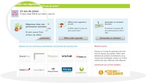 Créer sa cagnotte en ligne  http://www.leetchi.com/fr