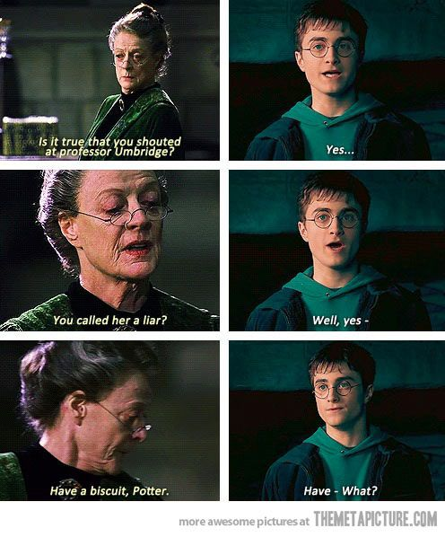 Professor McGonagall being awesome…