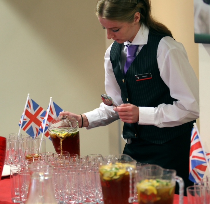 Pimms anyone?