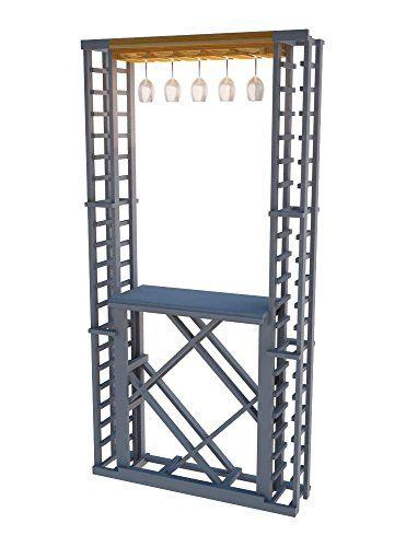 Wine Cellar Innovations TRLIGR2A3 Traditional Series 2 Glass Wine Rack Premium Redwood Light Stain *** See this great product.