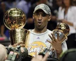 Kobe Bryant Winning his 4th NBA Championship