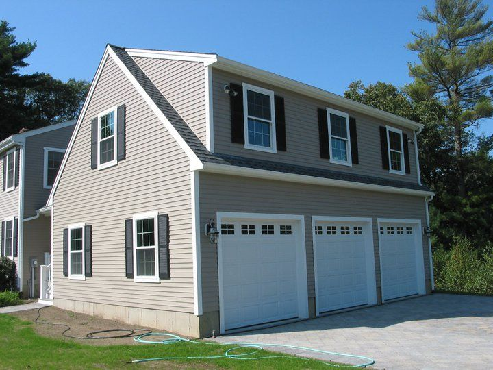 3 car garage addition by care free homes inc home for Garage additions pictures