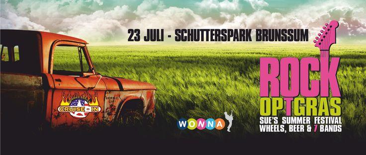 Rock op 't Gras #festival #Brunssum #wonna.nl