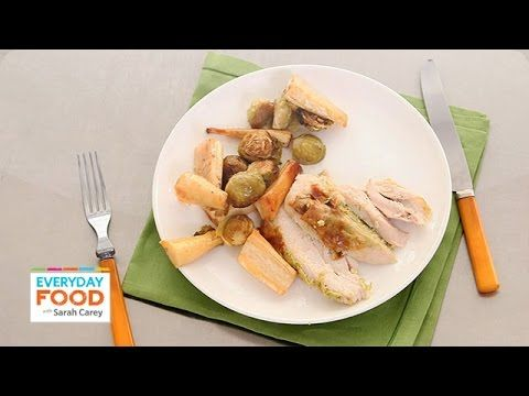 ▶ One-Pot Roast Chicken with Scallion and Ginger - Everyday Food with Sarah Carey - YouTube