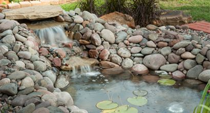 42 best container fountains and ponds images on pinterest for Build your own waterfall pond