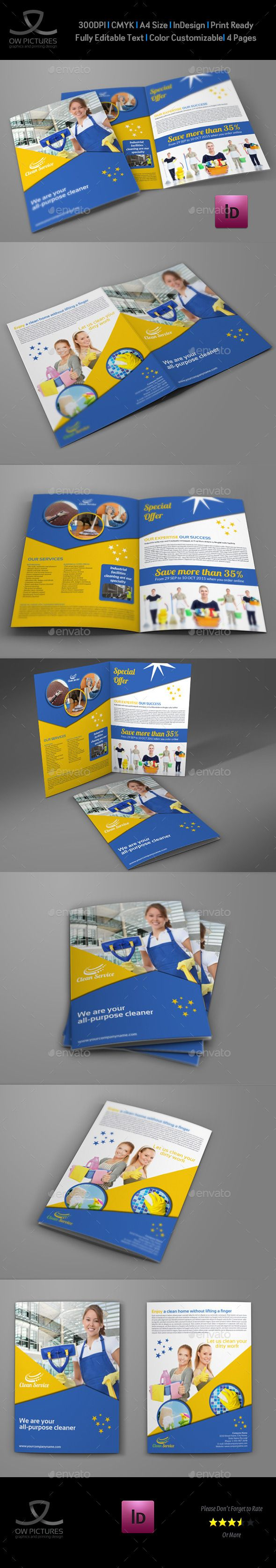 17 best ideas about cleaning services company cleaning services company bi fold brochure