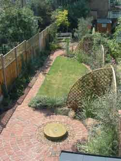 garden design for long narrow gardens - Garden Ideas Long Narrow