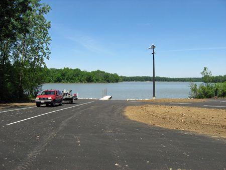 ODNR Delaware Wildlife Solar LED Parking Lot Lights