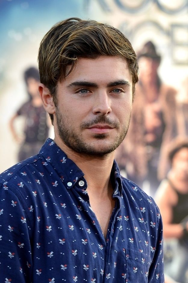 His facial hair: | The 32 Best Things About Zac Efron