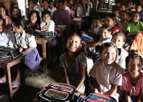 We improve access to good quality education and vocational training for children, young people and adults, and promote better care and development for the very young.