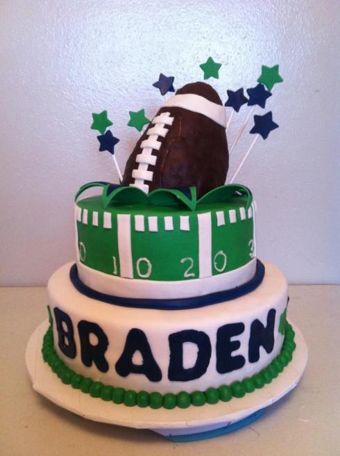 Best  Football Birthday Cake Ideas On Pinterest Football - Football cakes for birthdays