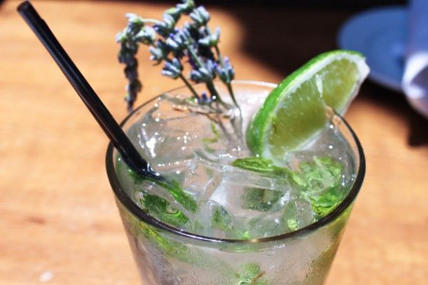 Love mojitos? Try this unusual version that is made using fresh lavender. This recipe is by the girl & the fig.