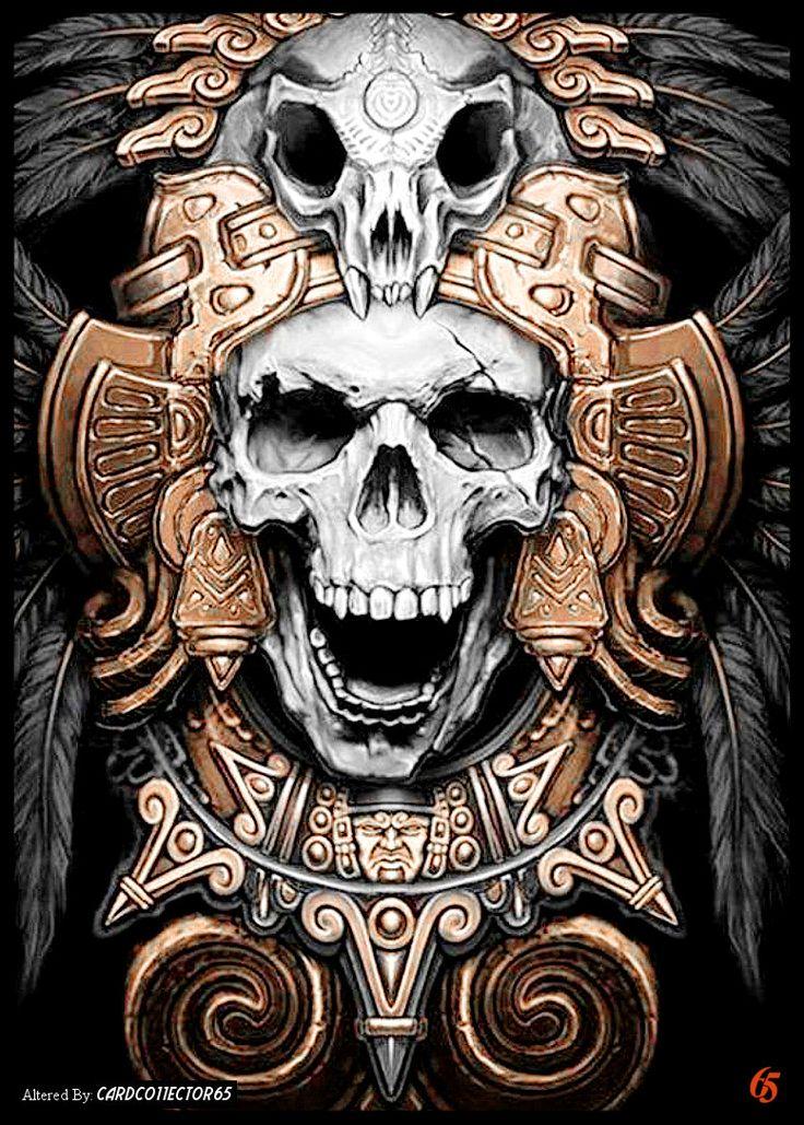 Aztec Skull - MTG - Sleeves