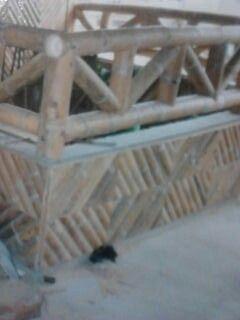 La guadua en estructuras, viviendas, Quioscos y estaderos, como decoracion