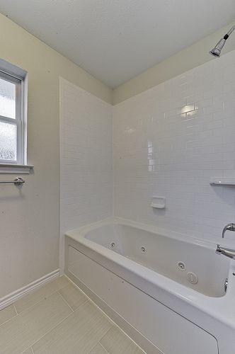 Renovation #3 - jack 'n jill bathroom with jetted tub and subway tileSubway Tile