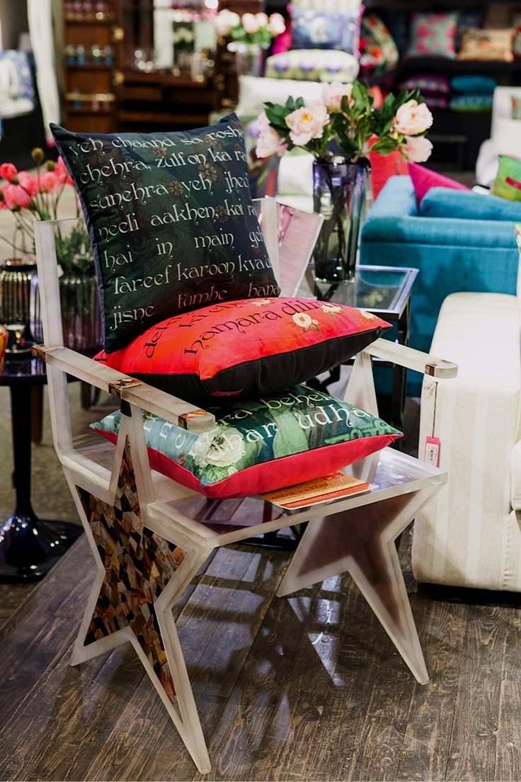 Cushions inspired by Shammi Kapoor and his immortal songs